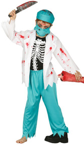 Boys Bloody Surgeon Fancy Dress Costume