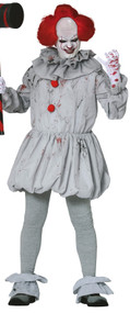 Mens Bad Horror Clown Fancy Dress Costume