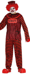 Mens Circus Horror Fancy Dress Costume