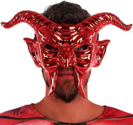 Adult Demon Fancy Dress Mask