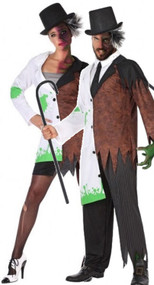 Couples Mad Scientist Fancy Dress Costumes