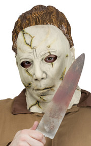 Mens Michael Myers Mask & Knife