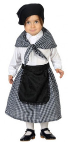 Baby Girls Old Victorian Fancy Dress Costume