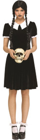 Ladies Gothic Daughter Fancy Dress Costume