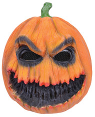 Adults Horror Pumpkin Fancy Dress Mask