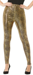 Ladies Dragon Scale Fancy Dress Leggings
