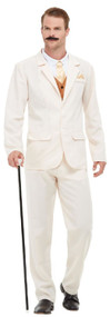 Mens 1920s Gentleman Fancy Dress Costume