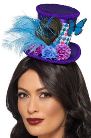 Ladies Mad Hatter Mini Hat Accessory
