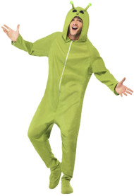 Adults Alien Fancy Dress Costume