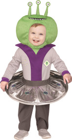 Toddler Alien Fancy Dress Costume