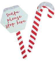 Candy Cane Christmas Garden Decorations
