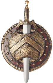 Adults Spartan Shield & Sword Accessory