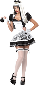 Ladies Dark Alice Fancy Dress Costume