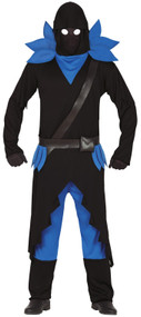 Mens Dark Battle Warrior Fancy Dress Costume
