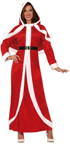 Ladies Mrs Christmas Fancy Dress Costume