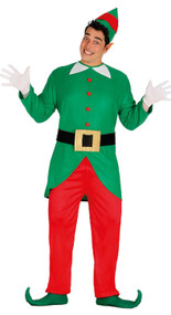 Mens Cheeky Elf Fancy Dress Costume