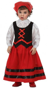 Baby Girls Innkeeper Fancy Dress Costume