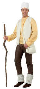 Mens Winter Shepherd Fancy Dress Costume