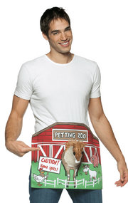 Mens Petting Zoo Fancy Dress Costume