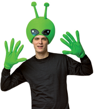 Adults Alien Fancy Dress Costume Kit
