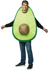 Adults Avocado Fancy Dress Costume