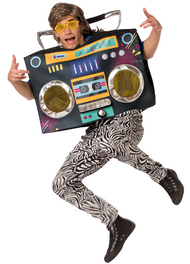 Adults Boom Box Fancy Dress Costume