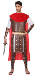 Mens Historical Gladiator Fancy Dress Costume