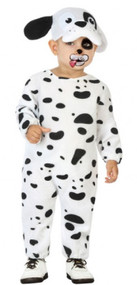 Baby Dalmatian Puppy Fancy Dress Costume