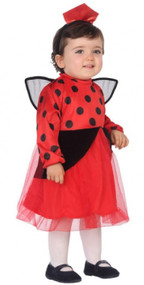 Baby Girls Ladybird Fancy Dress Costume
