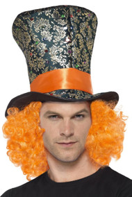 Adults Crazy Hatter Fancy Dress Hat