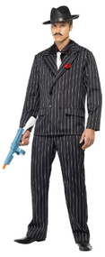 Mens 1920s Zoot Suit Fancy Dress Costume
