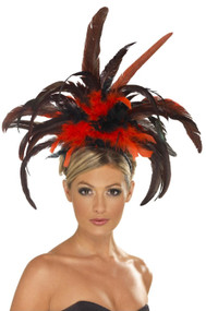 Ladies Burlesque Fancy Dress Hairband