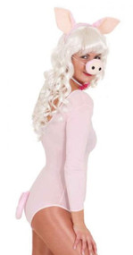 Ladies Pig Fancy Dress Costume Kit