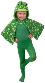Child's Frog Fancy Dress Cape