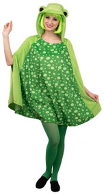 Ladies Spotty Frog Fancy Dress Cape