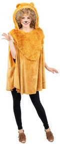 Ladies Furry Lion Cape
