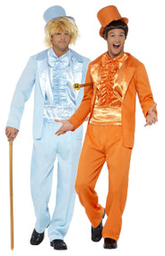 Mens 90s Stupid Tuxedo Fancy Dress Costumes