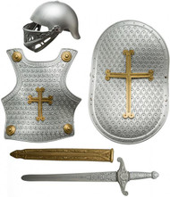 Child's Silver Medieval Armour Kit