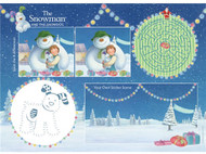 The Snowman & The Snowdog Activity Placemats