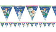 The Snowman & The Snowdog Christmas Bunting