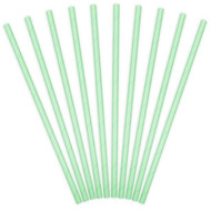 Mint Green Paper Party Straws