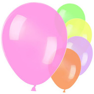 Bright Neon Party Balloons