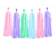 Pastel Mix Tassel Garland Decoration