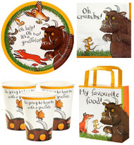 Gruffalo Complete Party Tableware Set