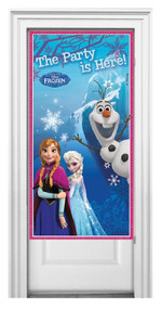 Frozen Door Banner Decoration