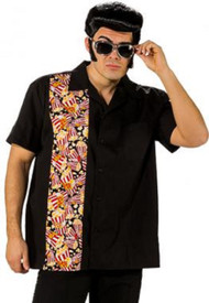 Mens 50s Popcorn Fancy Dress Costume