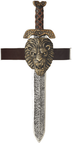Adults Roman Sword & Lion  Sheath Accessory