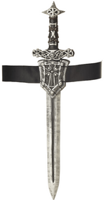 Adults Knight Sword & Sheath Accessory