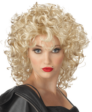 Ladies  50s Bad Girl Fancy Dress Wig