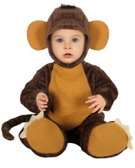 Baby Jungle Monkey Fancy Dress Costume